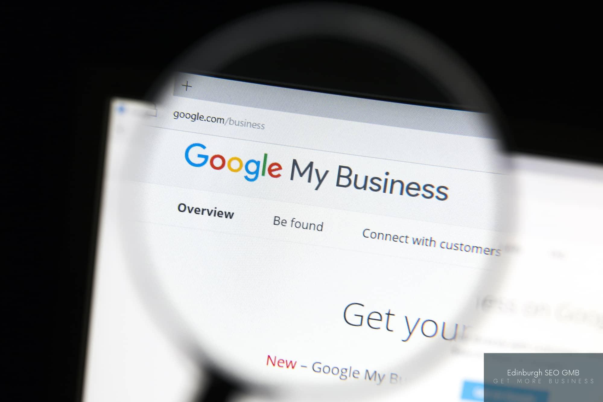 Optimise Google My Business